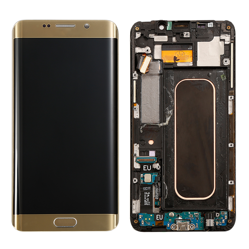 100-tested-Blue-Golden-For-Samsung-Galaxy-S6-Edge-Plus-G928F-LCD-Display-Touch-Screen-Digitizer