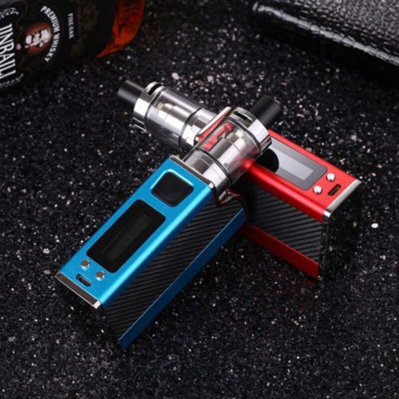 E-XY electronic Cigarette 150W Vape Box Kits adjustable wattage vaper pen mods kit 1500mah LED light display electronic