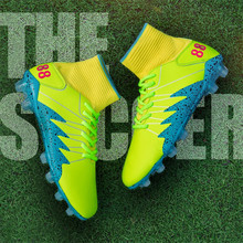 2019New High Ankle Superfly Soccer Shoes Men Football Boots Mens Phantom III Outdoor Training Sock Cleats Sports Sneakers Shoes