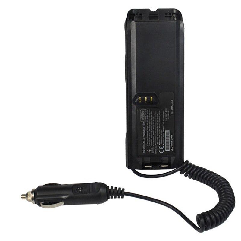 NOUVEAU Chargeur De Voiture Eliminator Batterie 12 V pour Radio Talkie Walkie XTS3000/XTS3500/MTP200/MTP300 Deux Façon Radio