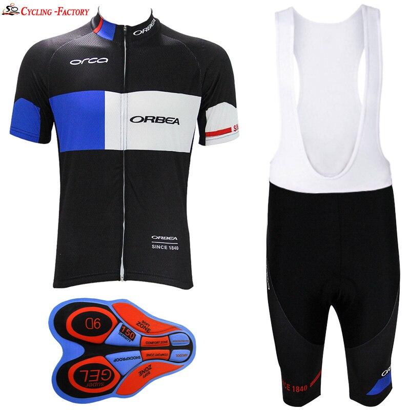 Prix pour 2017 Orbea Vélo vêtements vélo jersey d'été style ciclismo ropa ciclismo rapide sec respirant sport respirant vêtements