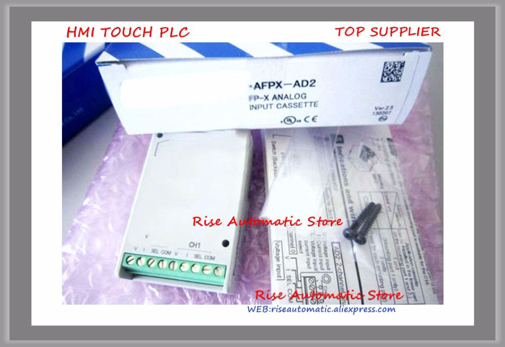 AFPX-AD2 Analog and Thermocouple Cassettes New Original analog thermocouple cassettes communication module afpx ad2 new