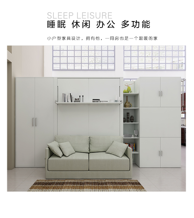 linen fabric bed frame soft electric sofa wall Bed Home Bedroom Furniture camas lit muebles de dormitorio yatak mobilya quarto in Beds from Furniture