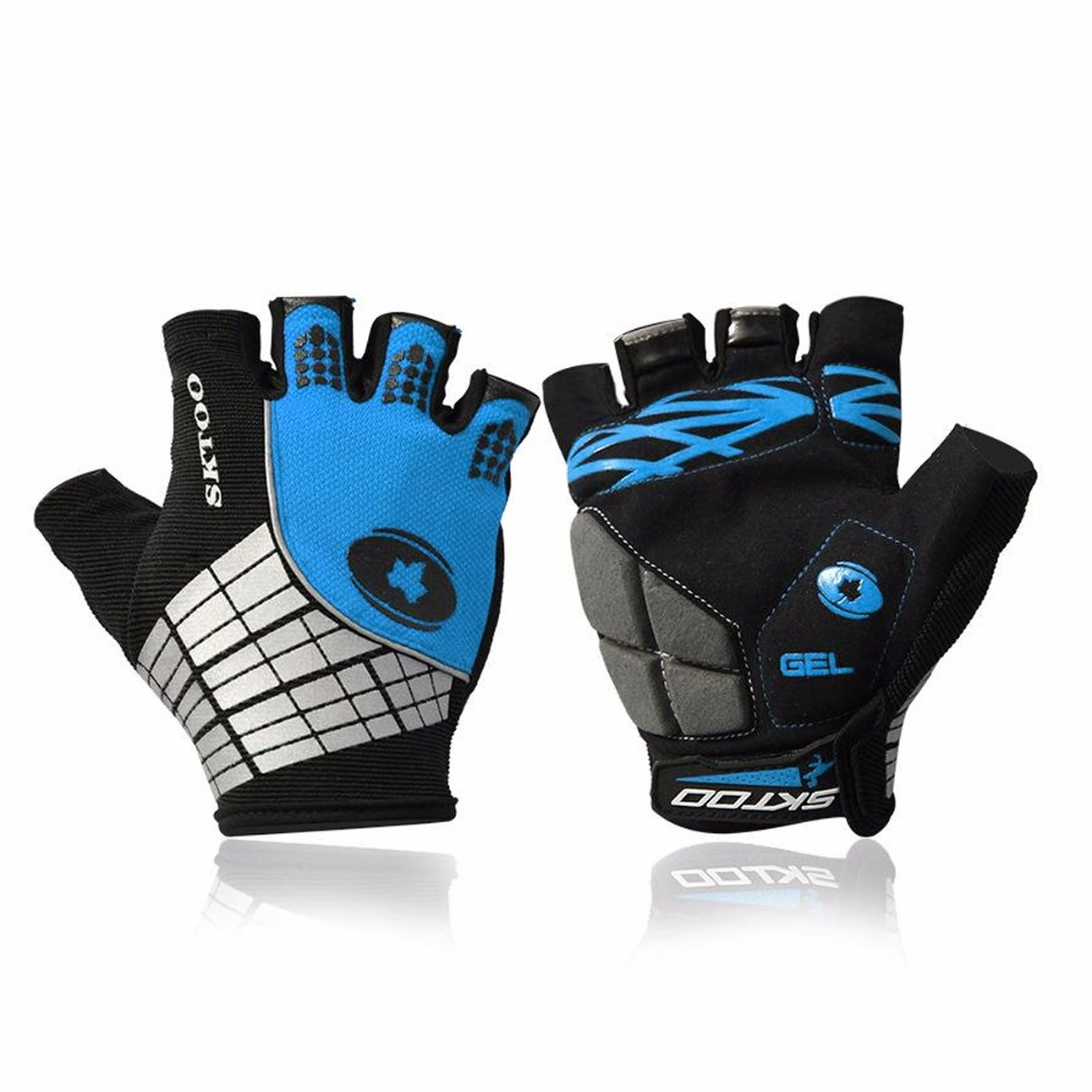 Mens gloves summer - 2016 Best Cycling Gloves Half Finger Mens Women S Summer Bike Bicycle Gloves Nylon Sport Mountain Bike Gloves Guantes Ciclismo