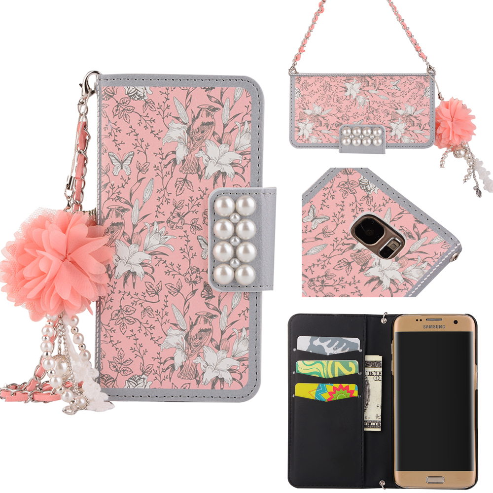 lluxury-3d-pink-flower-lanyard-wallet-flip-leather-cover-case-for-samsung-galaxy-s6-s7-edge-s8-plus-