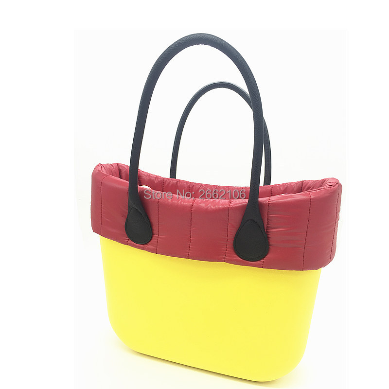1 piece Colourful Insert Lining Inner Pocket For Classic Big Obag o bag womens should bags Totes Handbags