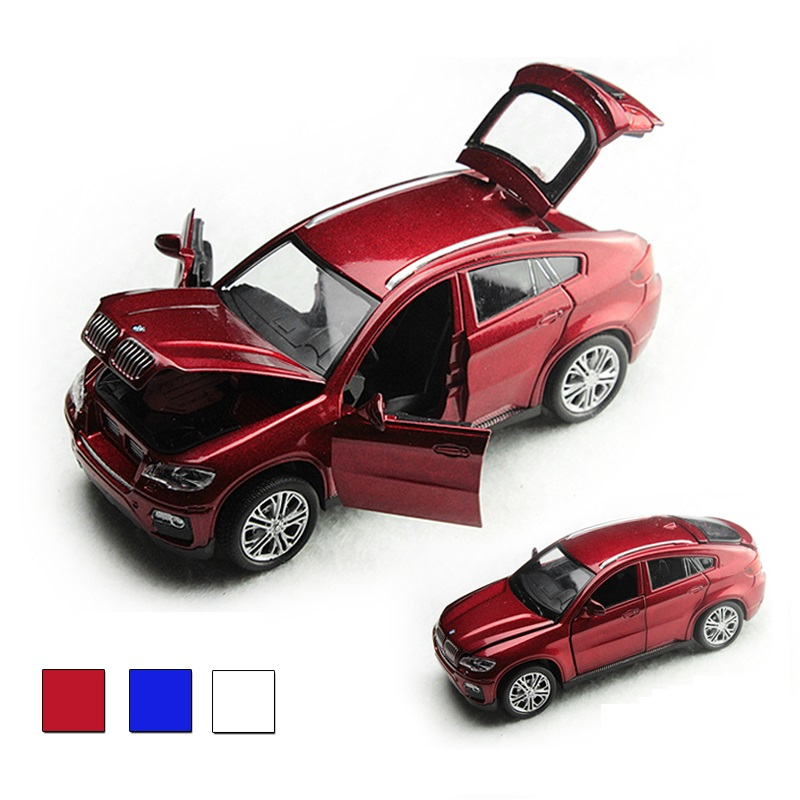 Alloy Car 1:32 Die Cast Model,15 Cm Metal Toy Car(#3204), Nice Painting Light N Music Function Pull Back Open Door