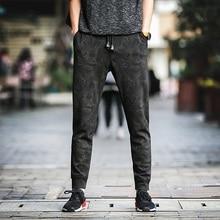 NEW 2019 Summer Spring camouflage elastic Waist men's casual hip hop beam foot trousers harem Ankle Length pants plus Size 5XL цена в Москве и Питере
