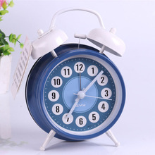 Super Loud Stylish Bedroom Alarm Clock Kids Wake Up Light Bedside Table Digital Clock Sunrise Alarm Reveil Night Watch 40N0108 недорого