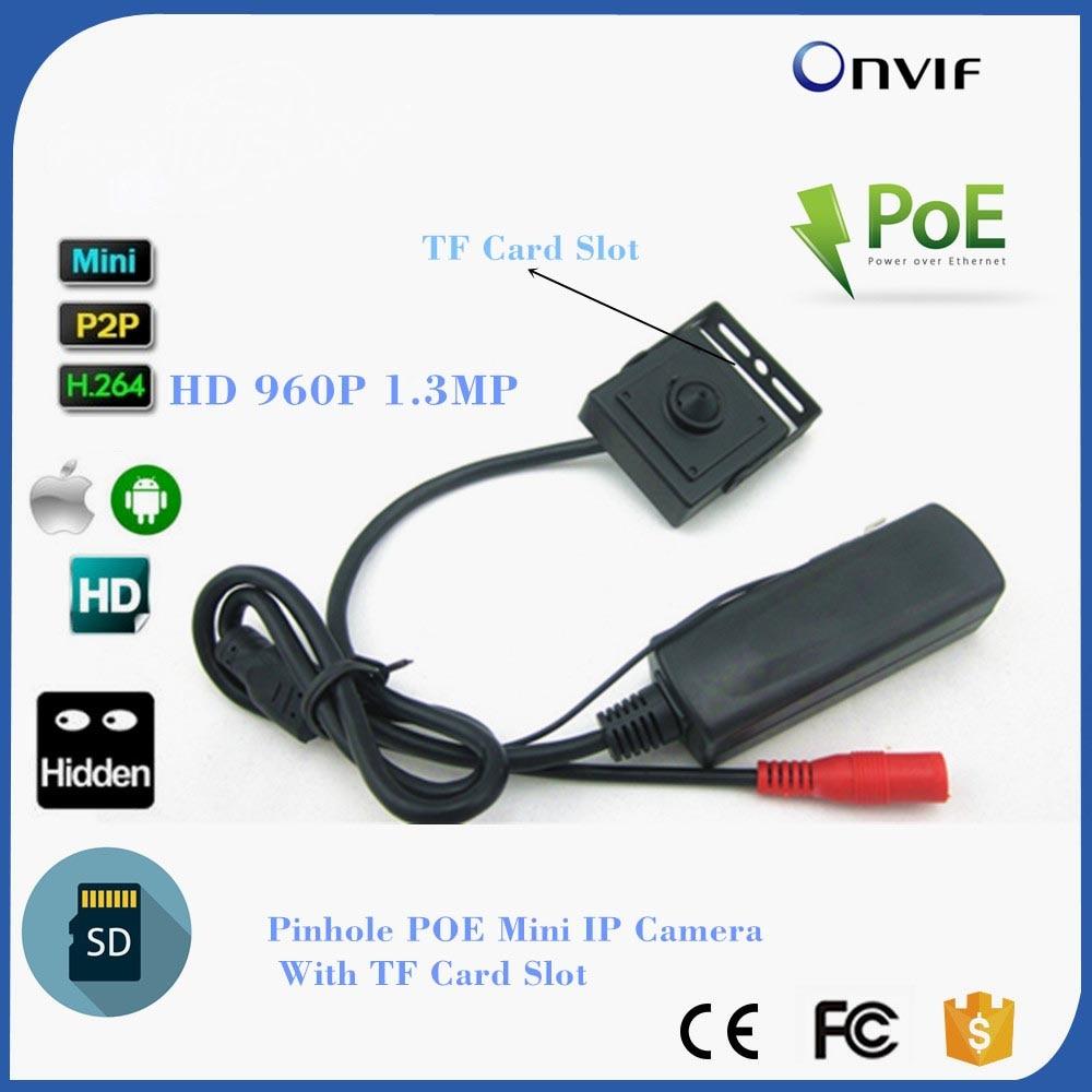 все цены на 1.3MP 960P HD Security Mini Network Cctv Camera,Covert MINI IP CAMERA POE SD Card Recording IP Camera Onvif Support TF Card онлайн