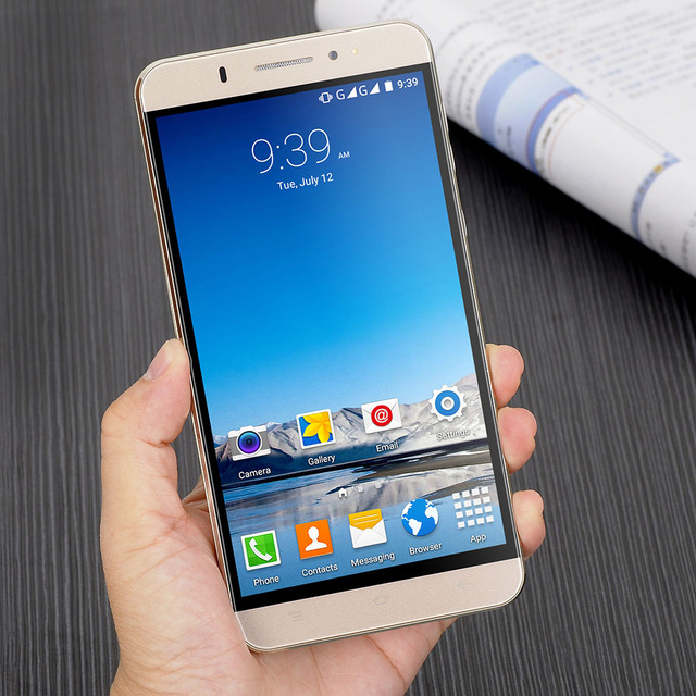 XGODY Y20 3G Smartphone 6 inch MTK6580 Quad 1GB RAM 8GB ROM 5.0MP Android 5.1 Mobile Cell Phones Dual SIM Dual Standby WiFi GPS