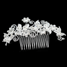 European Design Floral Wedding Hair Accessory