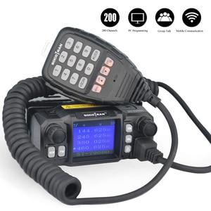 Image 2 - A Mosca Auto Mobile Walkie Talkie Ham Amateur Radio Transceiver Veicolo 136/220/350/440MHZ 4 bande UHF VHF Mobile car radio