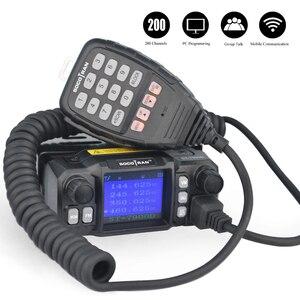 Image 2 - W moskwie samochód mobilny Walkie Talkie amatorski Ham Radio pojazd Transceiver 136/220/350/440MHZ 4 zespoły UHF VHF mobilne radia samochodowe