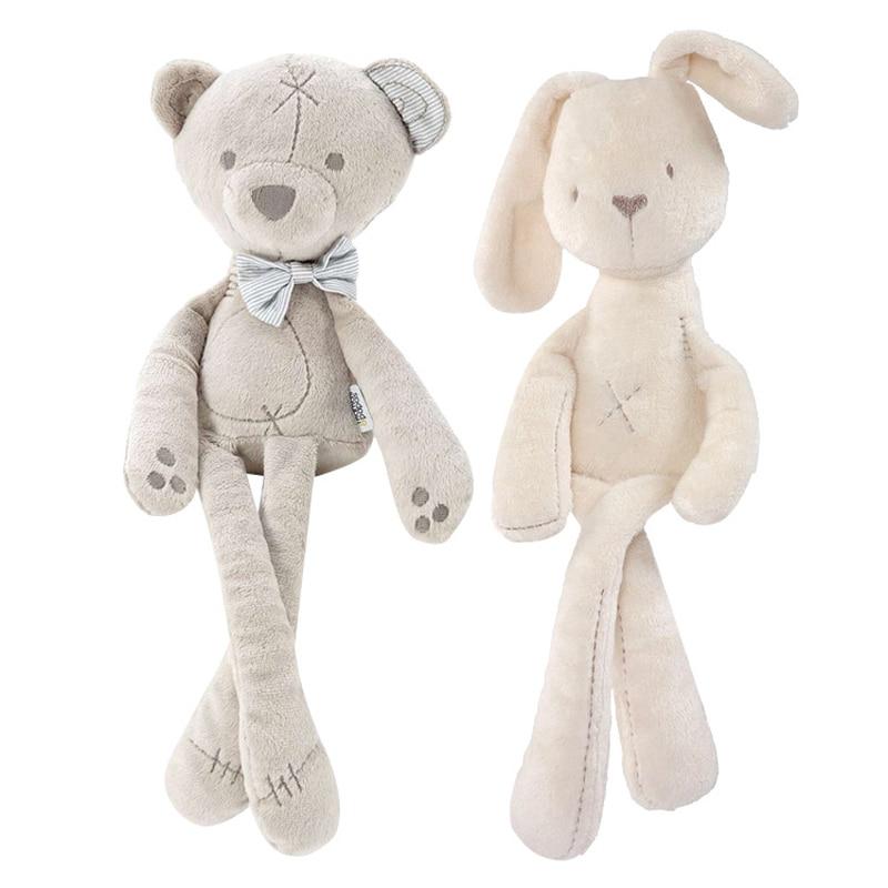 54 cm bebé oso de peluche conejo dormir cómodo suave muñeca juguetes ...