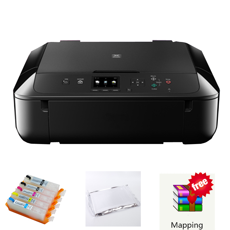 Edible ink printer for cake Digital cake printer food cake machine for Canon 5660 with wifi For canon 560 cartridge high quality 4 colors cmyk edible ink for canon for epson desktop inkjet printer for cake chocolate coffee