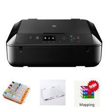 Imprimante à encre comestible pour gâteau imprimante à gâteau numérique machine à gâteau alimentaire pour Canon 5660 avec wifi pour cartouche canon 560