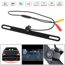 купить CMOS Waterproof Car Rear View Reverse Backup Butterfly Camera Night Vision Parking Reversing Assistance дешево