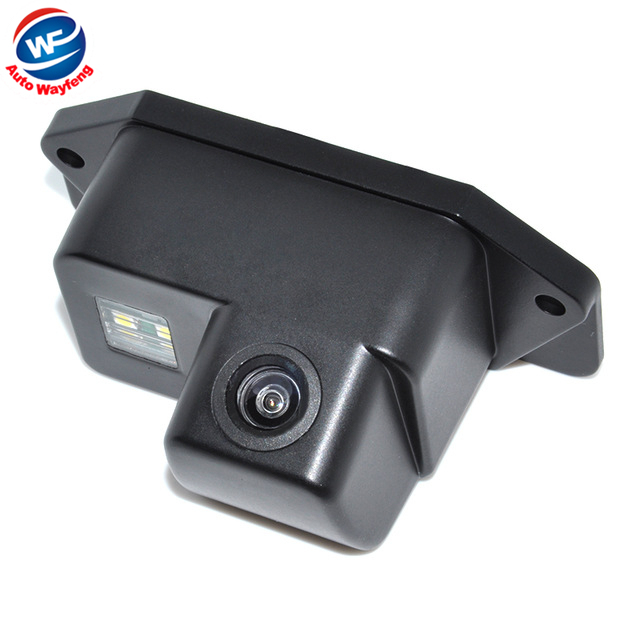 Fio impermeável car rear view camera backup fit para mitsubishi lancer Waterproof IP67 + Wide Angle 170 Degrees + HD CCD