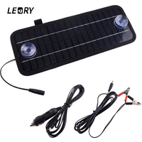 Hot 12V 4 5W Solar Panel Portable Monocrystalline Solar Charger Module System For Car Automobile Boat