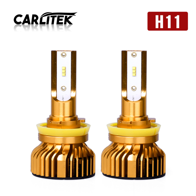 CARLitek luci a led h7 Canbus H4 H11 9006 9005 H1 with Lumileds Z ES Led Chip 6500K 12000LM Mini Led Headlight Bulb 72W 12V