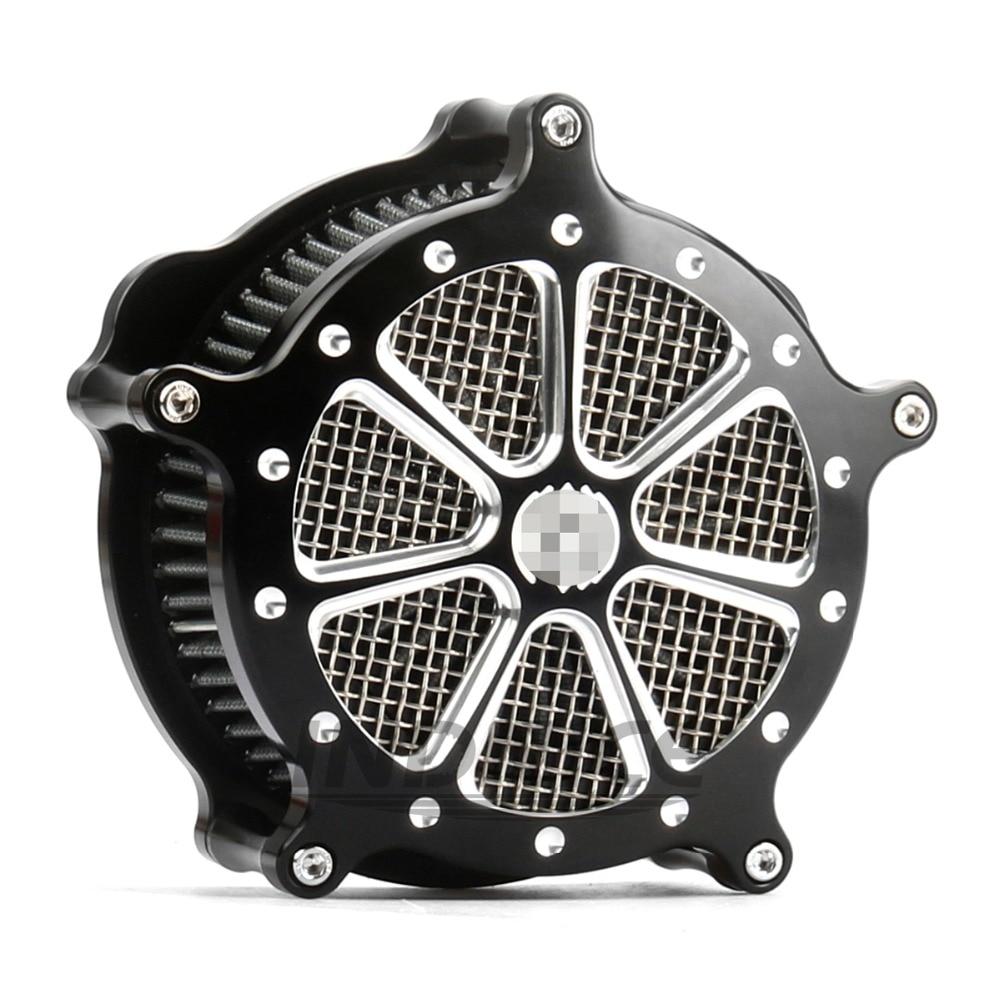 Мотоцикл глубоким разрезом ЧПУ ремесла воздушного фильтра впускной для Harley Спортстер 883 1200 XL в скорости 2004-2015 7