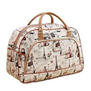 Женская дорожная сумка из искусственной кожи LGX28, Большая вместительная сумка для путешествий, 2019