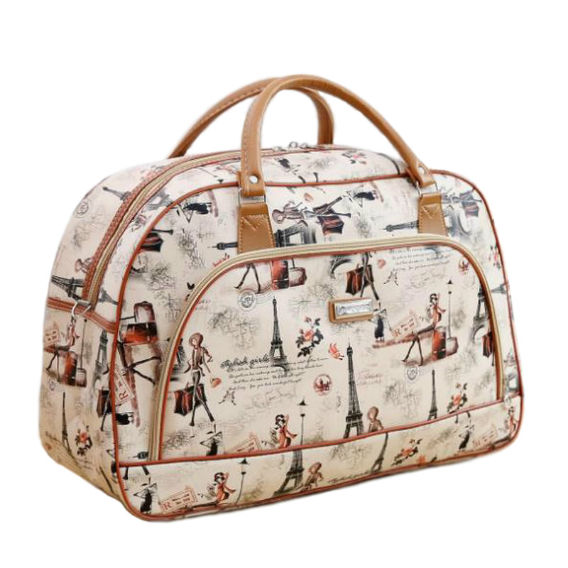 2019 Fashion Travel Bag Large Capacity Hand Sac A Main Luggage Weekend Bags Ladies PU Leather Travel Duffle Bags For Women LGX28