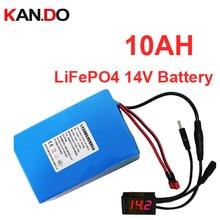 Литий-фосфатные батареи Литиевый аккумулятор 13 В 14 В литиевый аккумулятор 2a зарядное устройство 14V10AH аккумулятор LiFePO4 13 В
