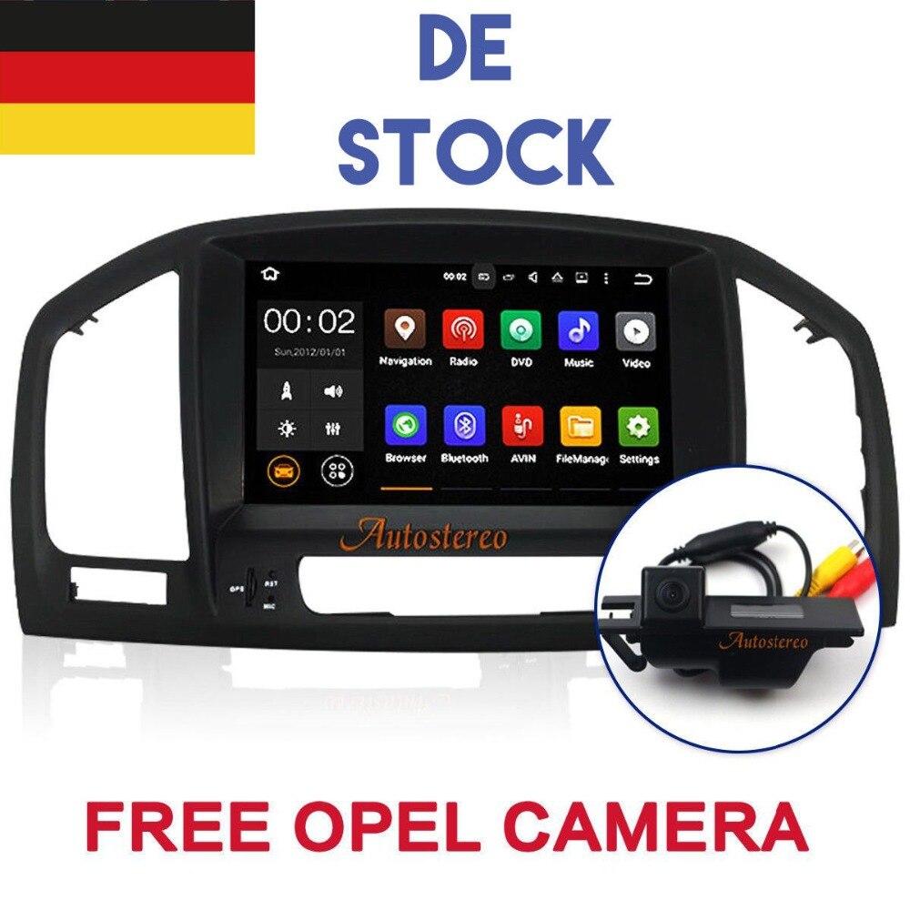 Aotsr Android 8.1 Car DVD radio Player per Opel Vauxhall Holden Insignia 2008-2013 car stereo GPS NAVI di navigazione multimedia