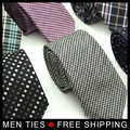 Brit Style Men's Ties Fashion Design 6cm wide Formal Necktie Neck tie For men Wedding Gift 15 Design Free shipping 1 piece