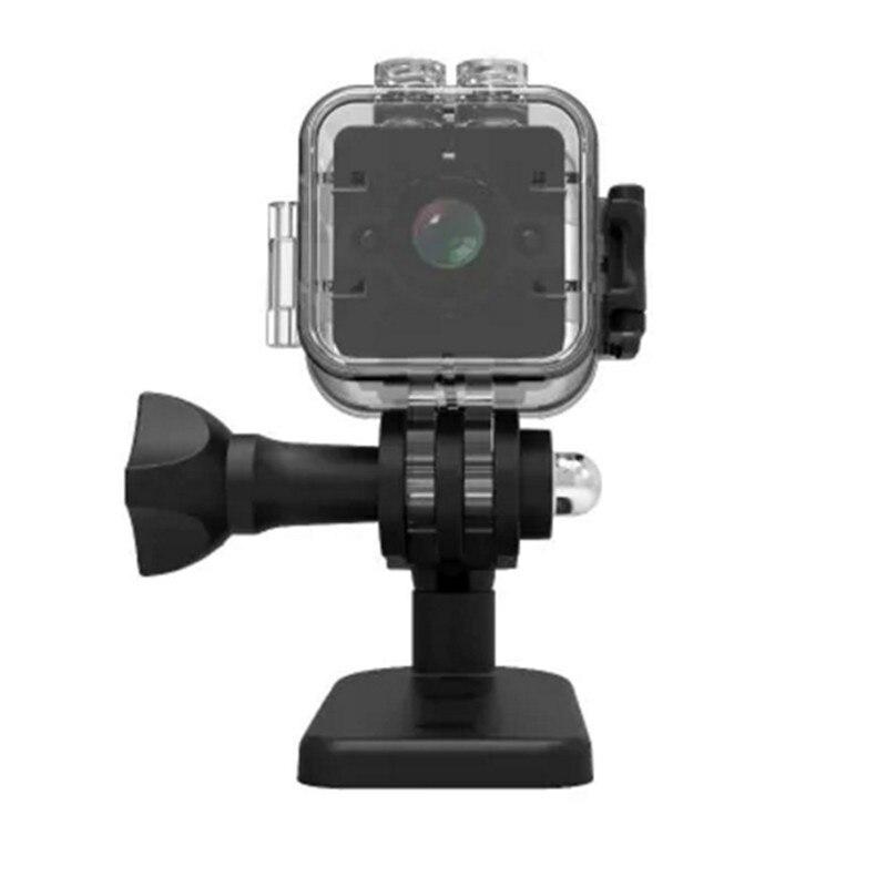 Action Caméra Boîtier Étanche Mini Caméra Coque Étanche pour Véhicule DVR Quelima SQ12 Caméra Conduite pour Sport En Plein Air