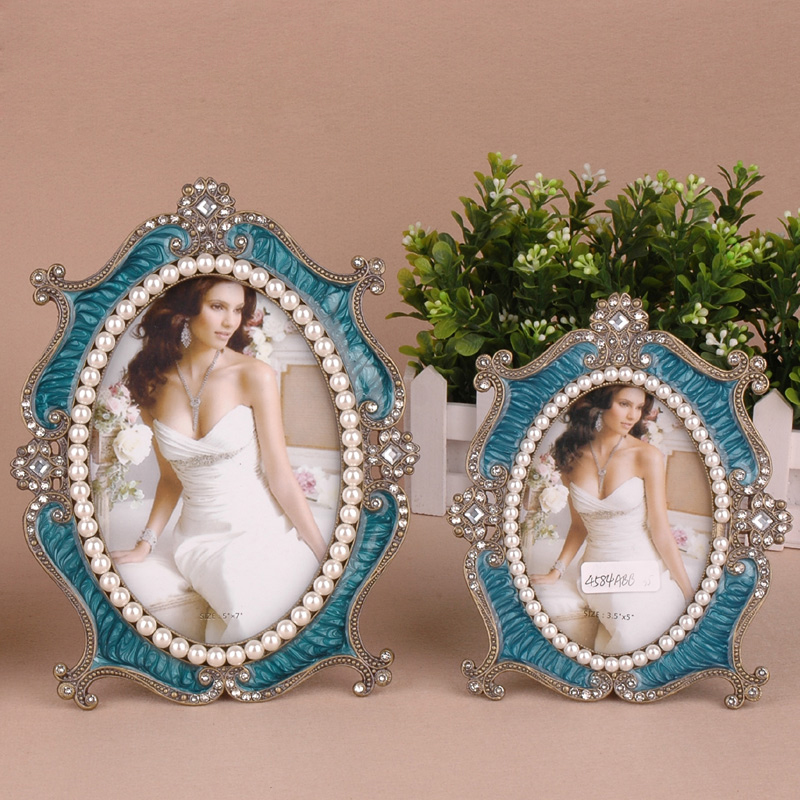 Aliexpress.com : Buy Vintage Wedding Photo Frame Gift Decor Pearl ...