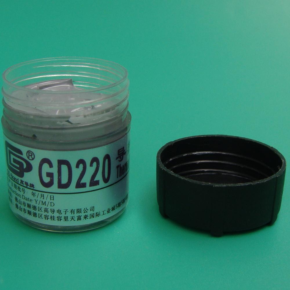 Compuesto de silicona de pasta de grasa conductora térmica de marca - Componentes informáticos - foto 3