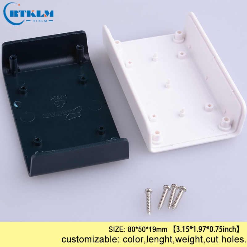 Diy Plastic Project Doos Abs Plastic Behuizing Elektronische Junction Box Custom Instrument Case Kleine Desktop Shell 80*50*19 Mm