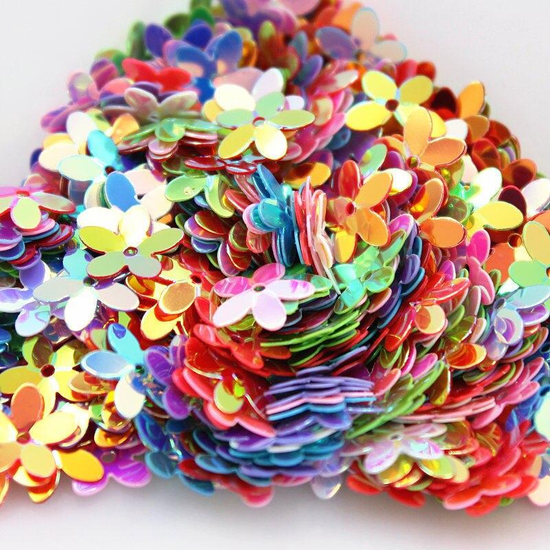 10 мм разные цвета в произвольном порядке Радуга Кубок блесток Конфетти Свадебные Костюмы шляпа украшения Diy 300 шт./лот