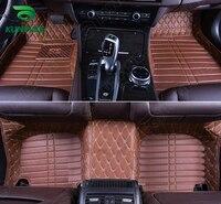 Top Quality 3D car floor mat for Audi A8L foot mat car foot pad 4 colors Left hand driver drop shipping