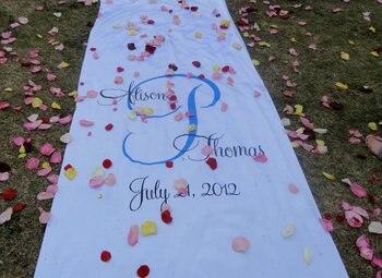Custom Monogram Carpet, Wedding Aisle Runner, Wedding Monogram Aisle Runner Matt Plain Runner,wedding decoration фото