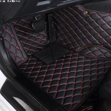 Alfombrilla de coche para jaguar xf xj F PACE XJL F TYPE XK XFL, impermeable, accesorios para coche
