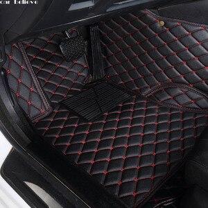 Image 1 - car floor mat For jaguar xf xj F PACE XJL F TYPE XK XFL XEL car accessories waterproof carpet rugs car mats