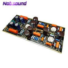 Nobsound Hi End M7 צינור ואקום Phono Riaa LP פטיפון מגבר HiFi סטריאו Marantz 7 Preamp התאסף לוח (ללא צינור)