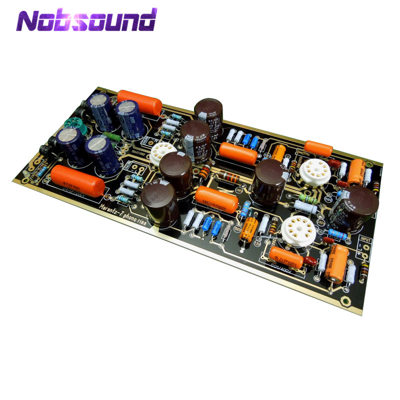 Nobsound Hi-End M7 Vacuum Tube Phono Riaa LP Turntable Preamplifier HiFi Stereo Marantz 7 Preamp Assembled Board(Without Tube)Nobsound Hi-End M7 Vacuum Tube Phono Riaa LP Turntable Preamplifier HiFi Stereo Marantz 7 Preamp Assembled Board(Without Tube)