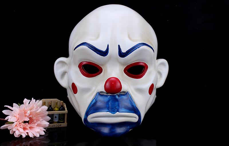 High Quality Resin Clown Mask Halloween Christmas Cosplay Costume Party Mask Movie Theme Jack Napier Batman Joker Masks10
