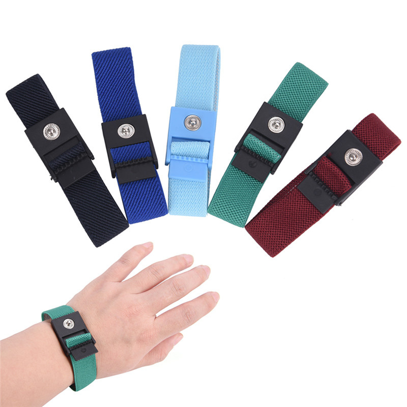 Creative Cordless Wireless Adjustable Anti Static Bracelet Electrostatic Esd Discharge Cable Wrist Band Strap Hand With Spare Wristband Hand & Power Tool Accessories Tools