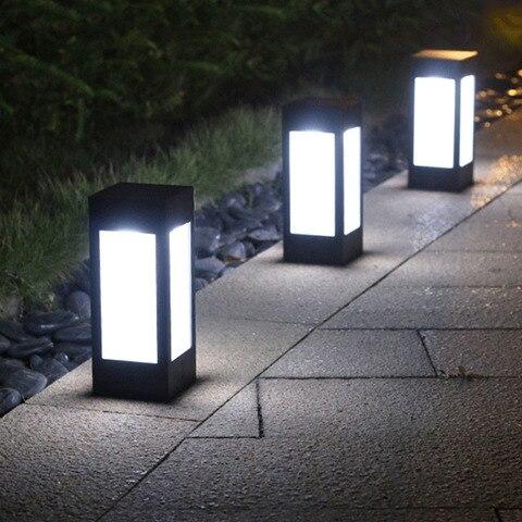 estigma lampadas caminho ao ar livre gramado solar lampadas