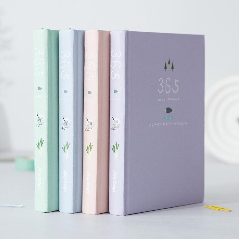 365 Tage Persönliche Tagebuch Planer Hardcover Notebook Tagebuch 2018 Bürowochen Zeitplan Nette Koreanische Briefpapier Libretas Y Cuadernos Office & School Supplies
