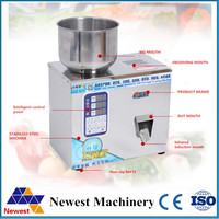 Free shipping Automatic Small scale herb capsules filling and weighing machine tea leaf packing machine rotating model filler