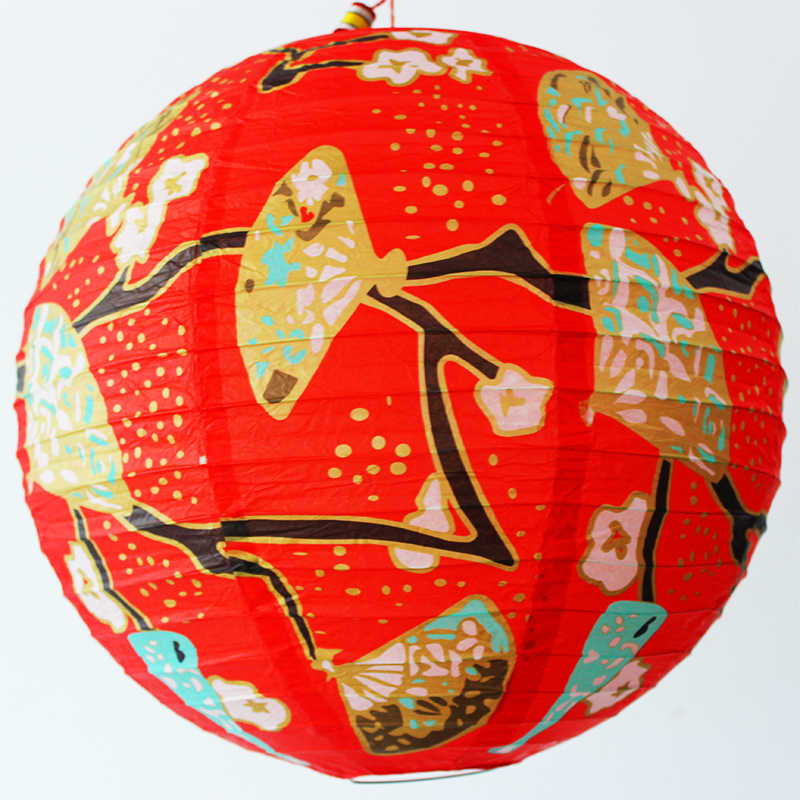 New 40cm Printing China Woman Paper Lantern Festival Supplies Birthday Wedding Party Decor Decor Gift Craft DIY Lampion Lantern