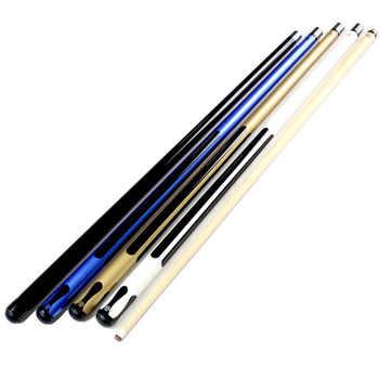 11.5mm Maple Wood Nine-ball Ball Arm 1/2 Split Cue Pool Billiard Cue Stick Center Joint Billiard Cue Accessories 2015