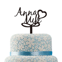 Wedding Cake Topper Acrylic Custom Name Cake Toppers Personalized Love Letters Cake Topper Anniversary Wedding Cake